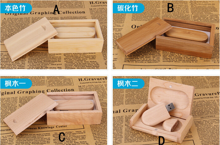 Natural Wooden Artword usb 2.0 memory flash stick pen drive Custom DIY LOGO Quickly Shipping(China (Mainland))