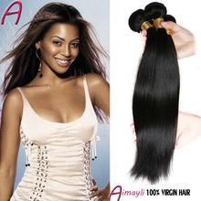 Grade 6a Brazilian Virgin Hair Straight 4 Bundles Unprocessed Virgin Straight Brazilian Hair Cheap Remy Human Hair Weave 8″-28″