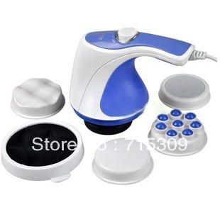 Free shipping for NEW Professional Body Sculptor Massager Relax Spin Tone, 110V or 220V better quality
