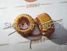 Free Shipping One Lot 10pcs Toroid Core Inductor Wire Wind Wound for DIY--330uH 3A mah AK(China (Mainland))