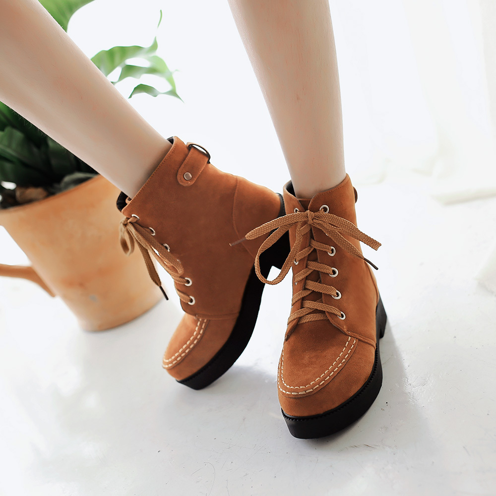 2015 Winter Autumn New Fashion  Women Ankle Boots Cross-Straps Solid Color Ankle Boots Fashion Breath Ankle Shoes Size 34-39R243<br><br>Aliexpress