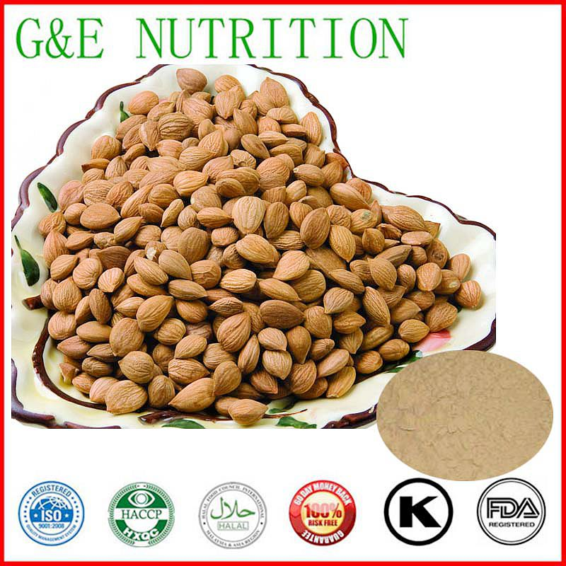 100% Pure Natural bitter apricot kernels extract powder 500g<br><br>Aliexpress