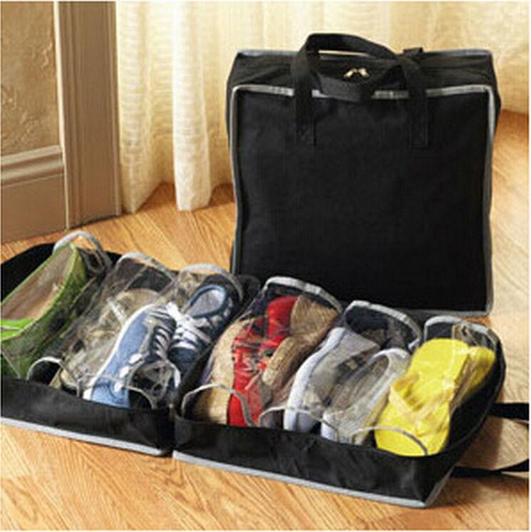 Hot Sale Travel use Waterproof Ventilation folding Shoes Storage bags organizer Portable Closet women/men shoe box LW0293(China (Mainland))