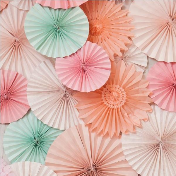 Different Size Paper Fan Wholesale/Retai Tissue Paper Fan Crafts Party Wedding Home Decorations Tissue paper fan(China (Mainland))