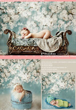 150cm*200cm backgrounds newborn props and backdrops flower photography background baby for photo studio S102