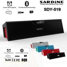 Original Sardine SDY-019 Altavoz Bluetooth Speaker Wireless HIFI Portable Subwoofer Speakers Music Sound Box with FM Radio(China (Mainland))