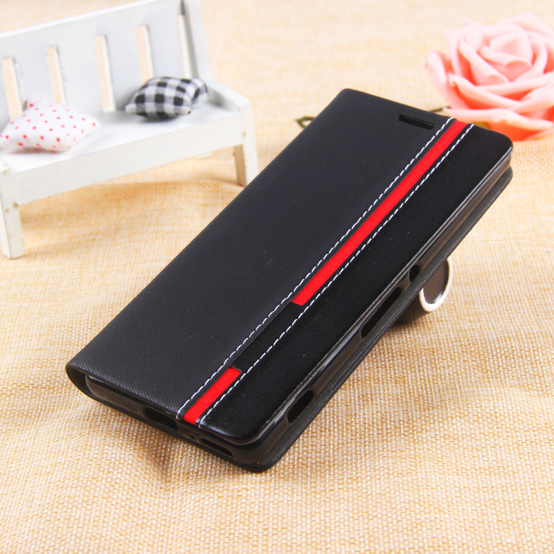Business & Fashion TOP Quality Stand For Elephone P9000 Flip Leather Case Mobile Phone Cover Mix Color(China (Mainland))