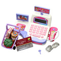 New Creative Math Toys Cash Register Supermarket Toy Display and Scanning Function Kid Educational Toy FCI