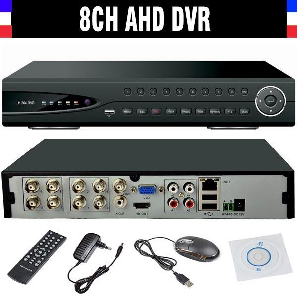 2015 New CCTV 8ch 720P DVR H.264 Recorder AHD 8 Channel CCTV DVR 8 CH 720P Network Video Recorder Surveillance Camera<br><br>Aliexpress