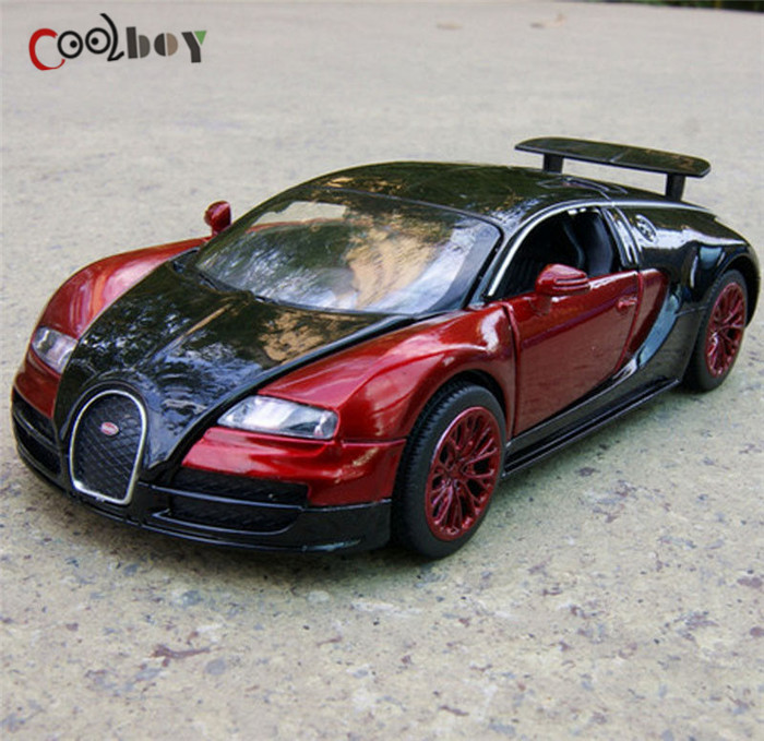 1:32 Scale Bugatti Veyron coches jugetes Diecast Car Model autos a escala Pull Back Toy Cars oyuncak araba Kids Toys Gifts(China (Mainland))