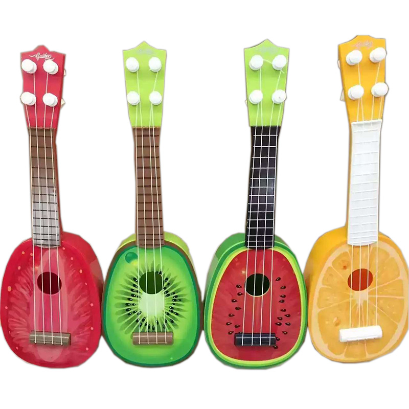 Child Baby Kids Guitar Ukulele Rhyme Developmental Music Sound Toy Children Music Gift Toy Musical Instrument TC0003(China (Mainland))