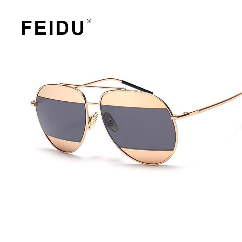 FEIDU 2016 New Fashion Sunglasses Women Brand Design Vintage Metal Frame Sun glasses Ladies Women Gafas Oculos De Sol Feminino(China (Mainland))