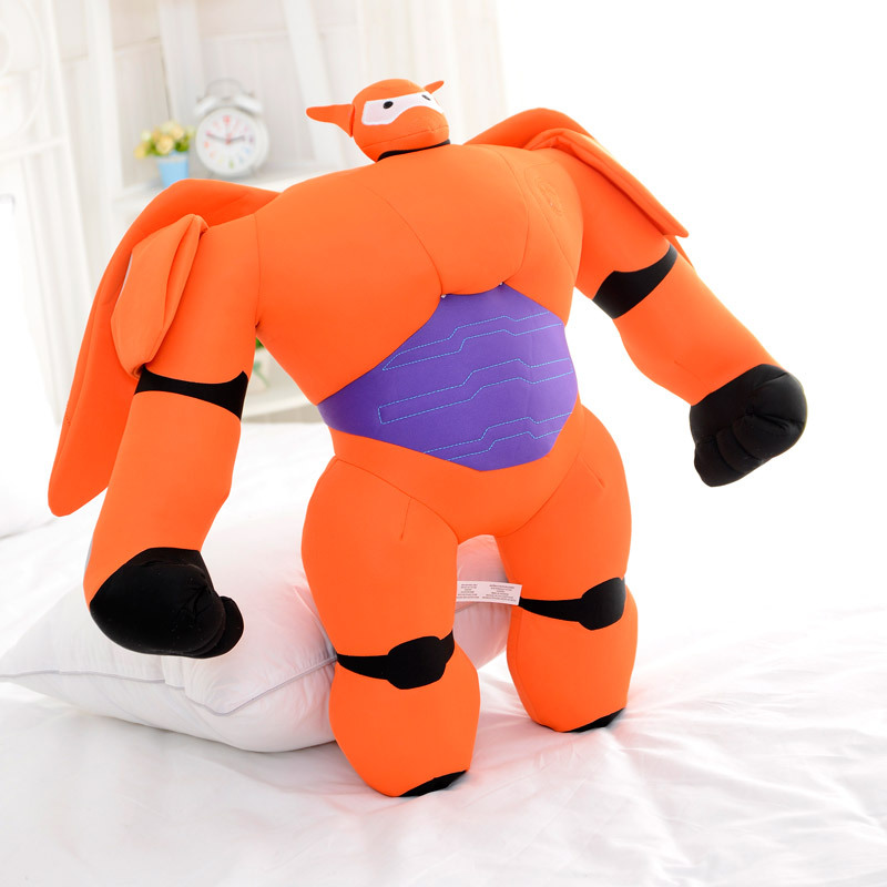 Big hero 6 Plush Peluche Fluffy Toys 1pcs 3Size Baymax Marvel The Anime Toys Kids Gifts Toys 1195(China (Mainland))