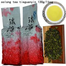 2015 year  130g  tea wu-long Hotsale Chinese tea Oloong tea 130g/bags tieguanyin anxi tikuanyin Health tea Freeshipping (China (Mainland))