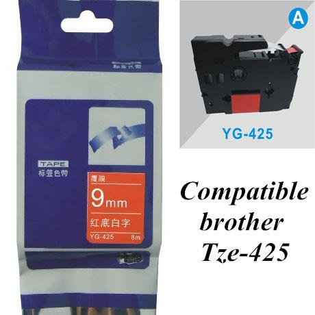 Лента для печатающего устройства Loty 9 * 8 tze425 tz425 /425 tze tz p/touch YG-425 Tze-425 лента для печатающего устройства puty 18 tz tze tz se4 se4 se4 p touch pt 2430pc