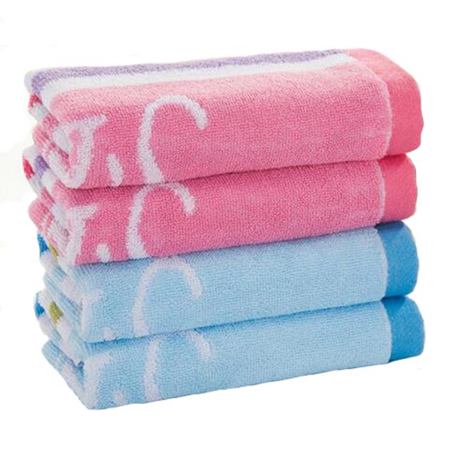 ( 4 шт./лот ) детские полотенце и полотенце с 100% хлопок 26 * 50 см детские сухим полотенцем YYT209