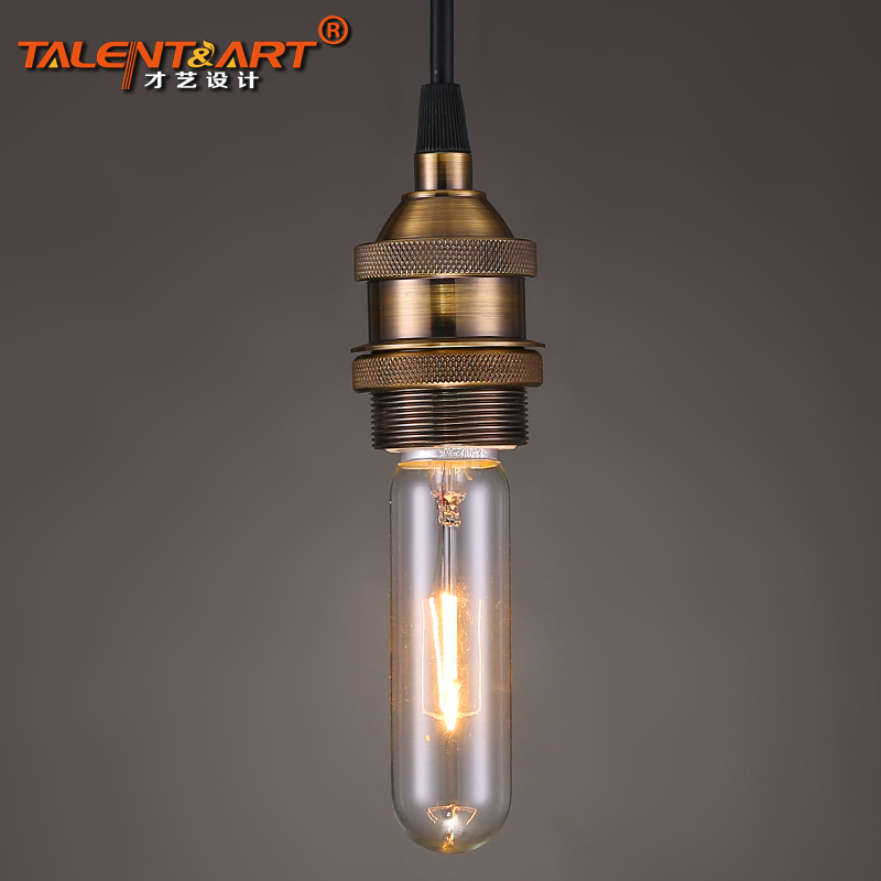Talent retro Industrial decorative incandescent lamp light source of E27 helical port Edison T30-14(China (Mainland))