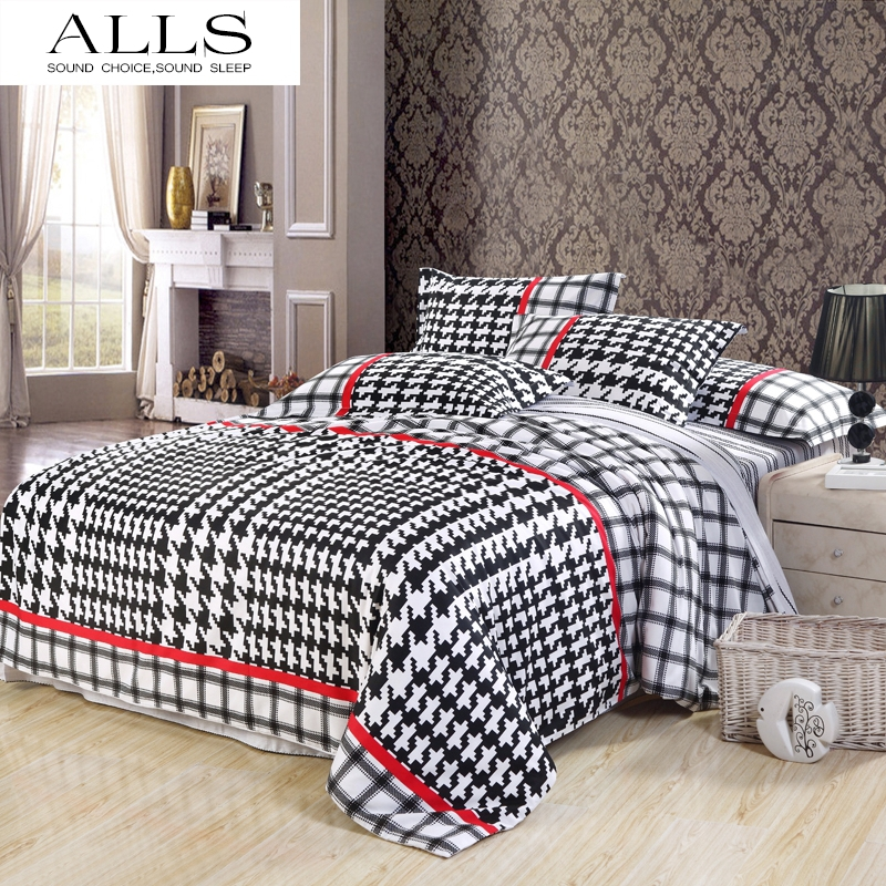 noir et blanc lin promotion achetez des noir et blanc lin promotionnels sur. Black Bedroom Furniture Sets. Home Design Ideas
