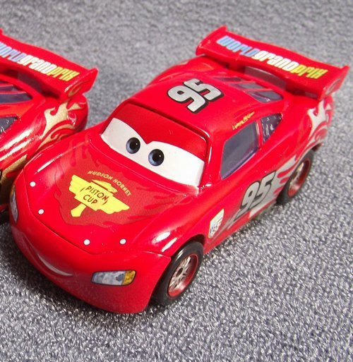 NEW!PIXAR CARS Silver logo