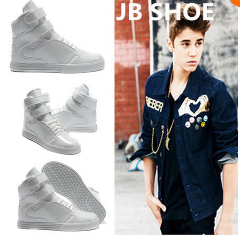 Гаджет  Men shoes TK hotsale  justin bieber Unisex  shoes high tops Fashion Brand Good Quality Men Women Casual shoes  Plus size36-45 None Обувь