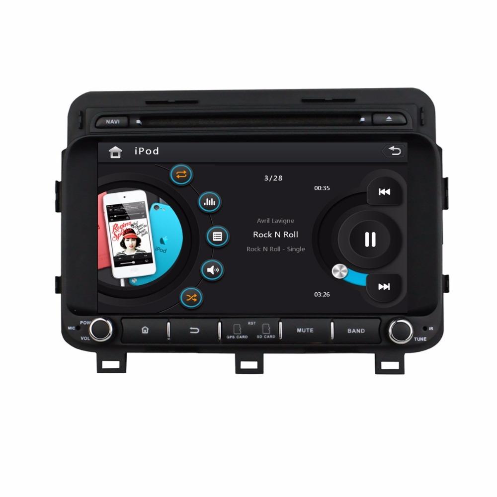 HD 2 din 8 inch Car DVD Player Kia K5 Optima 2014 2015 Navigation USB Bluetooth IPOD Radio /RDS TV SWC AUX IN - Cool Auto AV store