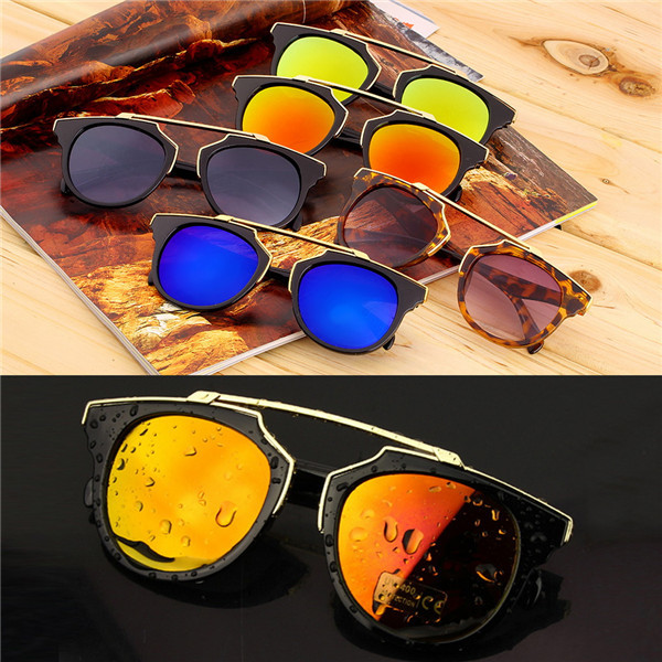 Super Star Fashion Sunglass 2016 new cat eye coating sunglasses women brand designer vintage sun glasses for men oculos de solОдежда и ак�е��уары<br><br><br>Aliexpress