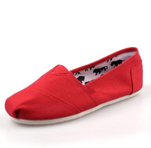 shoes women 2016 Fashion Canvas Shoes large big size 35-45 Unisex Casual Canvas Shoes women men summer flats shoes Free Shipping(China (Mainland))