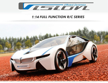 MJX toys Electric Remote Control Car VED 1:14 i8 RC Car MJX8545 Large Drift  Radio Control RC Sports Car Model Free shipping(China (Mainland))