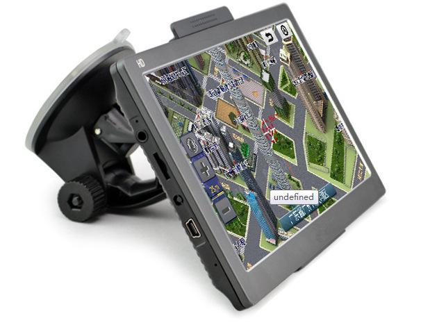 High quality 7 inch HD dual core 8GB portable Car GPS Navigation navigator sat nav vehicle GPS free shipping(China (Mainland))