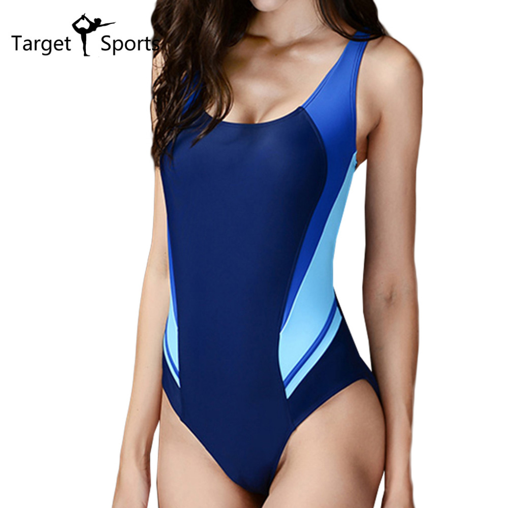 2016 Brand Swimwear Ladies Swimwear High Stretch Slimming Swimsuit High Cut Swimwear Reduces Drag Competitive Swimwear(China (Mainland))