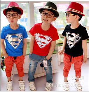 Hot Selling Boys T Shirt Fashion Spiderman T Shirt Active Kids Tops Boys Clothes Free Shipping