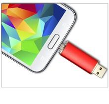 USB Flash Drive Smartphone Pen Drive 16g 8g 4g 2g Micro USB Portable Storage Memory Metal