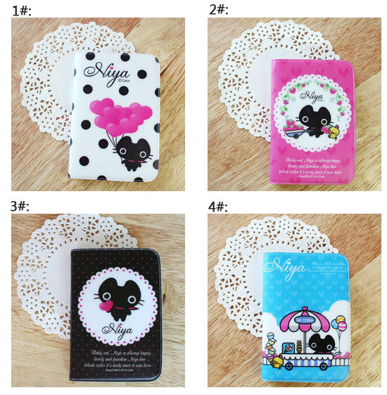 CUTE Cartoon Lovely Pocket ID Credit Card Holder Case Wallet(China (Mainland))