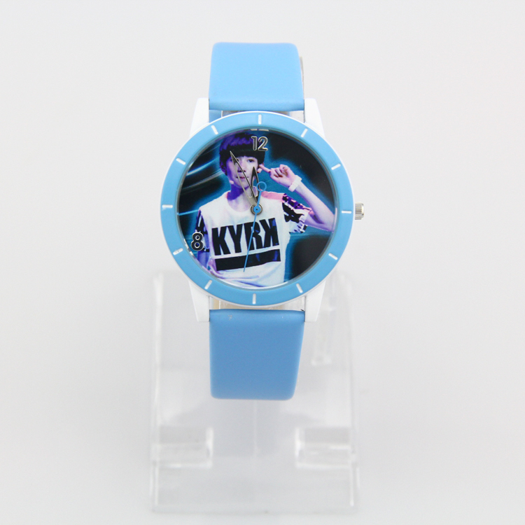 Kezzi Brand 2015 Real New Watches Cartoon Students Watch Children Water Resistant Function Relojes Composite Leather Strap(China (Mainland))