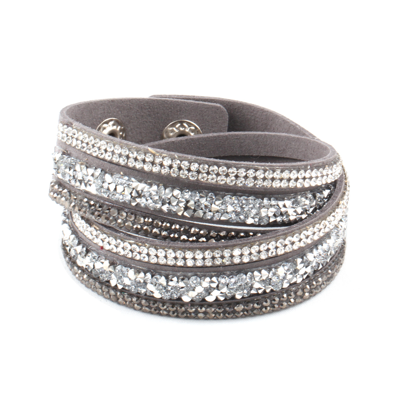 Women Bracelets Jewelry Cortical About 20Cm Various colors Leather bracelet Bracelets For Women 2016 New Safety Buckle Jewelry(China (Mainland))