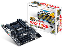 Hot selling High quality motherboard!!!970A-DS3P ATX desktop motherboard AM3 / AM3 + solid-state ultra-durable(China (Mainland))
