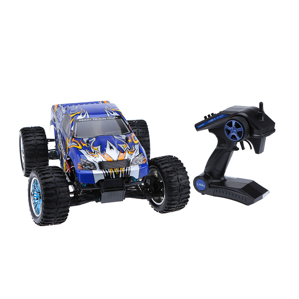 Original HSP 94111 2.4Ghz 2CH Transmitter Electronic Powered 3300KV Brushless Motor 1/10 RTR 4WD Off-road RC Car