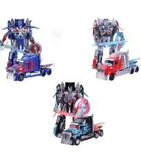 3 Style No Retail Box TF Transformation 4 Optimus prime Robot Action Figures Juguetes Model Brinquedos Kids Toys