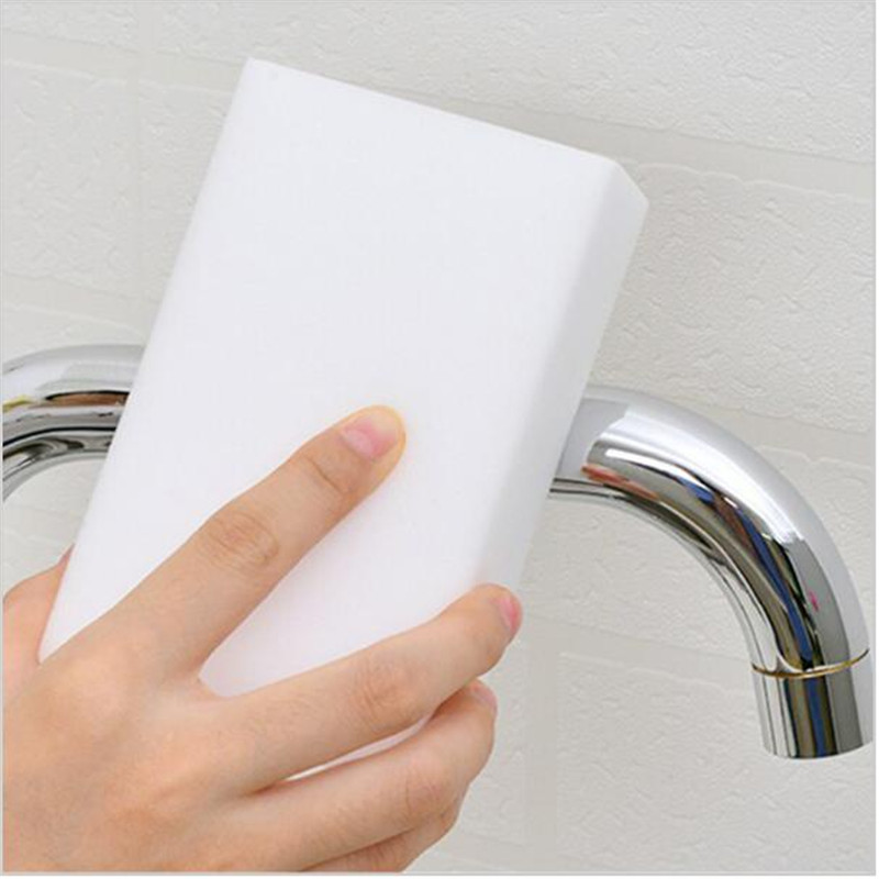 100*60*20mm 100 pcs Magic Sponge Melamine Sponge Clean Accessory Cleaning Eraser for Kitchen Office Bathroom Clean Nano sponge(China (Mainland))