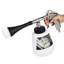 Car Interior Air Pulse Washer Equipment High Power Cleaning Nozzle Sprayer Foam Bottle(China (Mainland))