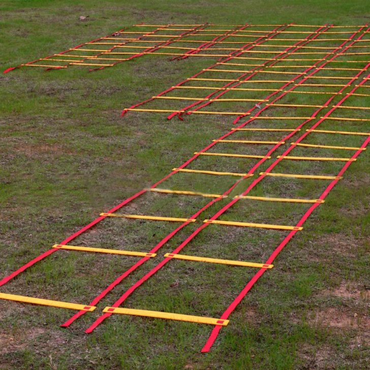Durable 9-rung Agility Ladder for Soccer Speed Football Soccer Fitness Feet Training Ladder(China (Mainland))