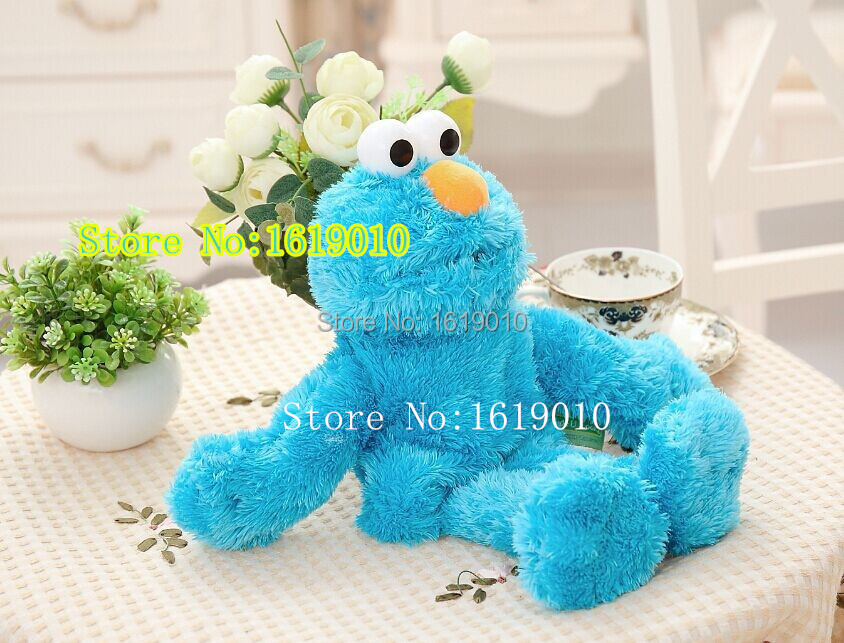 Early Learning plush hand puppet Sesame Street puppet plush dolls Puzzle plush toys wholesale(China (Mainland))