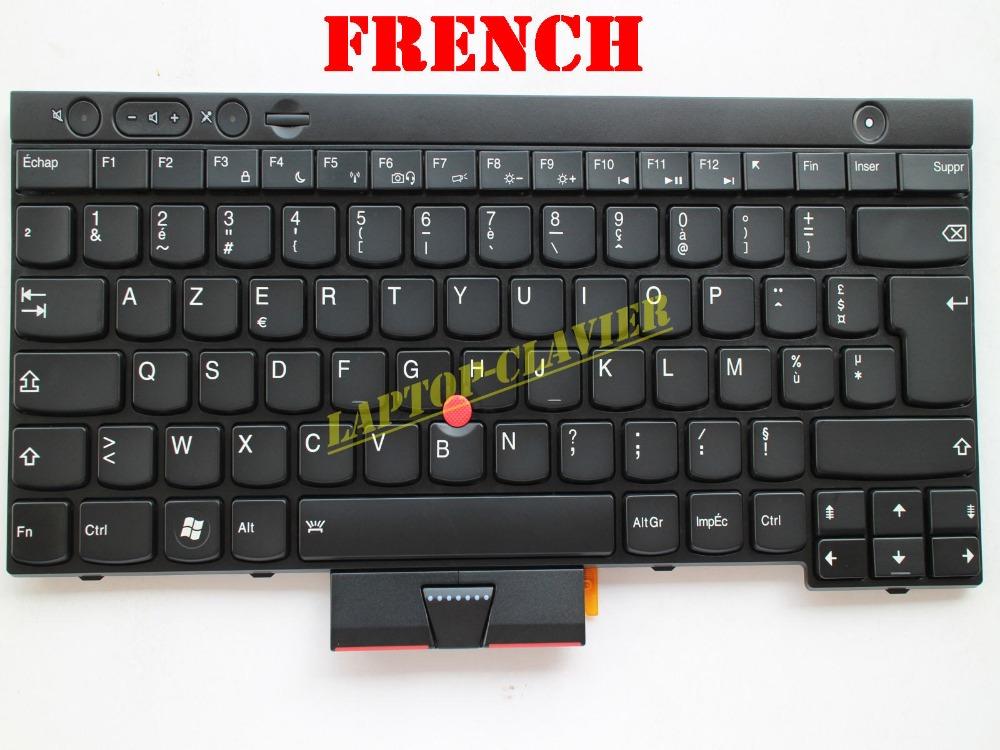 Backlit AZERTY for Lenovo ThinkPad W530 X230 X230i X230T 0B36080 04W3074 CS12BL Clavier French Keyboard<br><br>Aliexpress