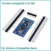 New Pro Mini atmega328 3.3V 8M Replace ATmega128 for Ar Compatible Nano