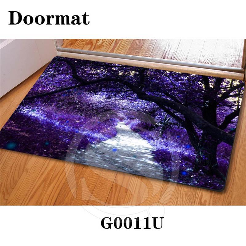 Home Decoration Custom Doormats Bedroom magic world Printing Vintage Carpets Slip-resistant Living Room Floor Mats SQ0701-FS334(China (Mainland))