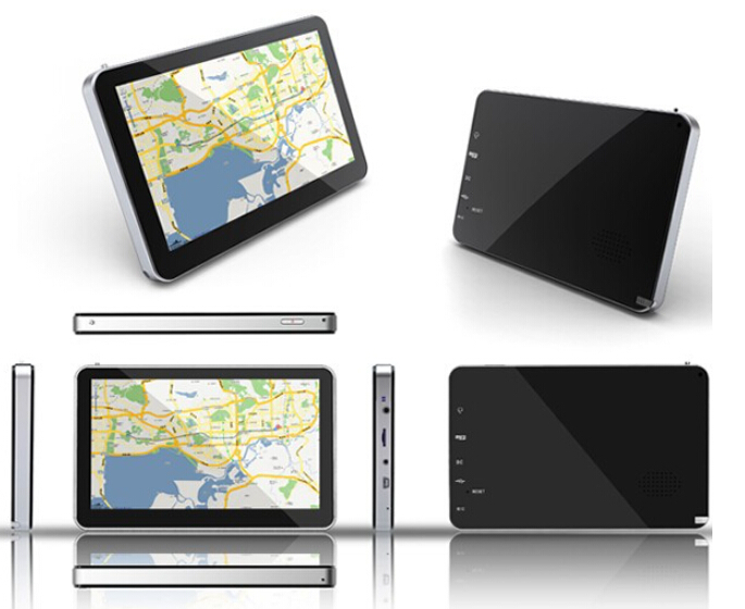 Cheapest! 7 inch auto GPS navigation, DDR 128 MB,Navitel 9.1 maps for Russia, FM, 800 MHz, WinCE 6.0 ,touch screen gps navigator(China (Mainland))