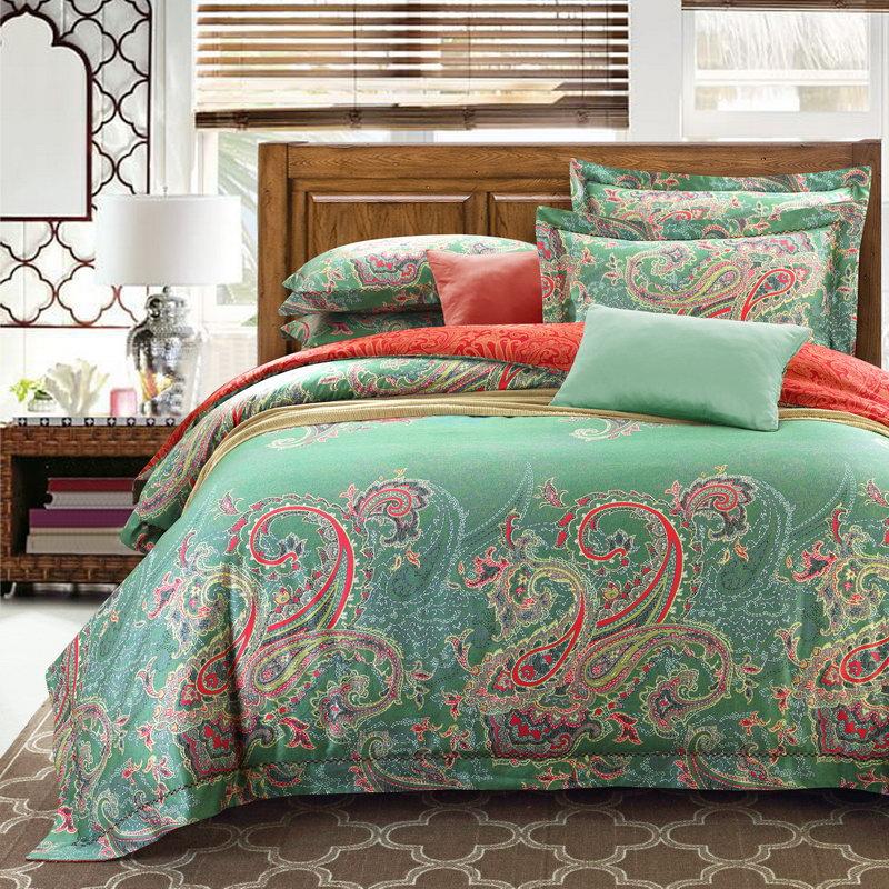 100 pima cotton bedding 4pcs queen king duvet cover set for Pima cotton comforter