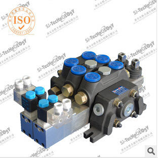 V100 electric-controlled multi-way valve manually operated directional valves Sweeper multi-way valve hydraulic multi-way valve(China (Mainland))