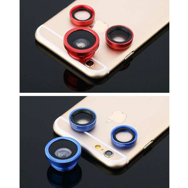 2016 Sale Hot Sale Fisheye Fish Eye for the General Film Clip Wide Angle Macro High-definition Mobile Phone lenses Camera Lens