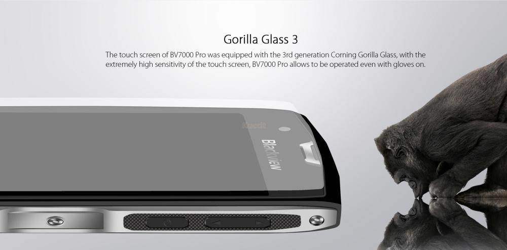 "2017 Original Blackview BV7000 Pro IP68 Rugged Waterproof Phone Mobile MT6750T Octa Core 5 "" FHD 4G+64G GPS 4G lte Smartphone"
